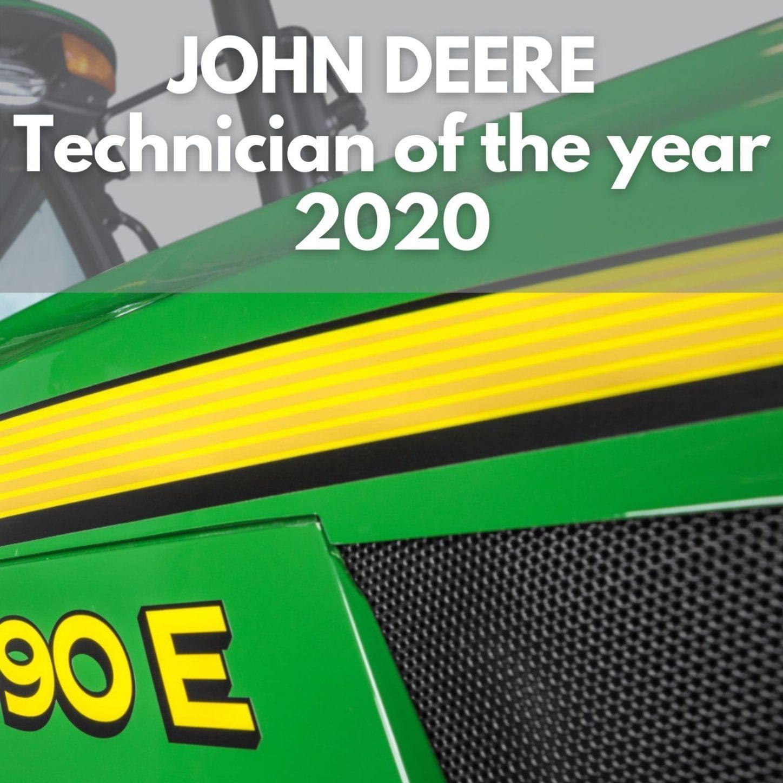 John Deere Technician of the year 2020